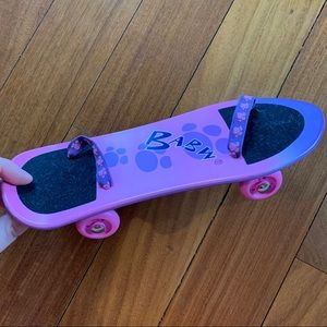 Build-A-Bear skateboard
